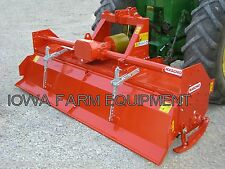 "Rotary Tiller, Heavy Duty Maschio C300 123"", Tractor 3-Pt, PTO: 130HP Gearbox"