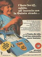 X7687 Auto Reel 45 - Giocattoli radiocomandati - Pubblicità del 1977 - Advertis.