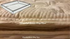 Queen Pillowtop Mattress Cover with Foam Rails For Softside Waterbed Mattress