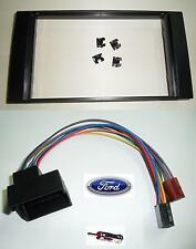 FORD KUGA 2008-2012  KIT MASCHERINA AUTORADIO+CONNETTORE ALIMENTAZIOE/ALTOP.