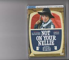 NOT ON YOUR NELLIE COMPLETE SERIES 2 AND 3 DVD COMEDY HYLDA BAKER 10 EPISODES