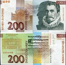 SLOVENIA 200 TORAJEV 2004 P 15 AZ REPLACEMENT UNC