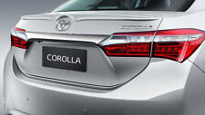 MIT Toyota Corolla Altis ASIA AU 2014-on rear trunk lip spoiler-color Painted