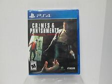 Crime & Punishments Sherlock Homes  (Sony PlayStation 4) BRAND NEW