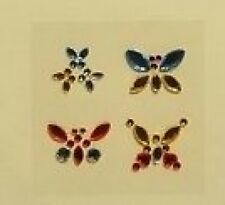 PACK BEAUTIFUL BLING GEM BUTTERFLY EMBELLISHMENTS FOR CARDS AND CRAFTS