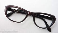 Rarität Vintagefassung besondere Schmetterlingsform Gestell Omabrille lunettes M