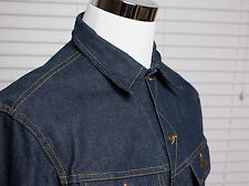 Vintage LEE Union Made Sanforized 70's (?) Chore Denim Jacket Sz Small / Medium