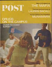 The Saturday Evening Post May 21 1966 Lauren Bacall w/ML 082516DBE