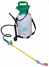 BRAND NEW 5L LITRE PUMP PRESSURE KNAPSACK SPRAYER SPRAY KILL WEEDS INSECT GARDEN