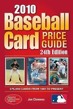 2010 Baseball Card Price Guide-ExLibrary