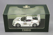 1/43 Scale Ebbro MMP Lexus LFA Nurburgring VLN 4-hour Race 2011 No.111