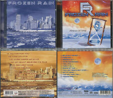 2 CDs, Frozen Rain - ST + Ahead Of Time, Mega AOR, Melodic Rock, Treat,Skagarack