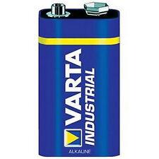 10x Varta Industrial Alkaline 9V Block Batterie Alkaline 4022 6LR61
