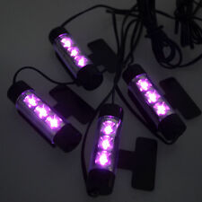 Accessori Per Auto 4 x 3LED 12V Interno Decorativi Atmosphere Luce Lampada Tide