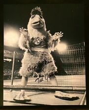 The Famous Chicken signed 8x10 photo Autographed