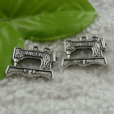 free ship 240 pieces tibet silver sartorius charms 20x18mm #4183