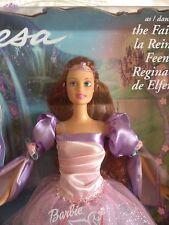 Il lago dei cigni Teresa, regina delle fate. 2003 Barbie mai tolto dalla scatola.