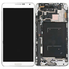 LCD Display Touch Screen Digitizer + Frame for Samsung Galaxy Note 3 N900A White