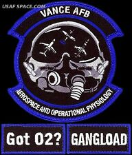 USAF 71st MEDICAL OPERATIONS SQUADRON + POCKET TABS - CSAR PJ ORIGINAL PATCH SET