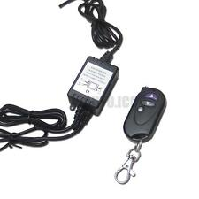 One Set Dual-Output Wireless Remote Control w/ Strobe Solid Lighting For Car LED