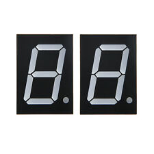 "2pcs 1.0"" 7 Segment 4 Digit Common Anode 1 inch RED LED digital display"
