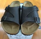 Birkenstock Zurich 050121 Size 43 M10 R Brown Leather Sandals