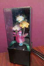 Vintage Fiber Optic Rose Light/Light Up multi stage color Auction Finds 702