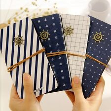 """""""Navy Dream"""" 1pc Cute Diary Classic Vintage Planner Pocket Journal Memo Gift"""