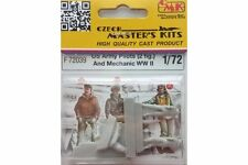CMK F72039 1/72  US Army Pilots (2 fig.) And Mechanic WW II