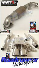 Milltek Exhaust Mini Cooper S R58 MK2 Coupe Turbo Back Resonated & Cat Twin Oval