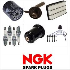 FOR 1999-2001 TOYOTA SOLARA TUNE UP KIT NGK SPARK PLUGS WIRE FILTERS SET