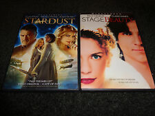 STARDUST & STAGE BEAUTY-2 DVDs-CLAIRE DANES, MICHELLE PFEIFFER, BILLY CRUDUP