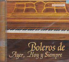 Vikki Carr Javier Solis Boleros De Ayer Hoy Y Siempre CD New Nuevo sealed