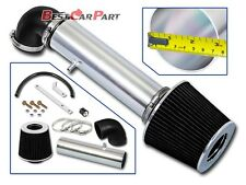 BCP BLACK 97-04 Cherokee/Grand Cherokee 4.0L L6 Short Ram Air Intake +Filter