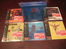 NIRVANA RARE REPLICA TO THE ORIGINAL 5 LPS JAPAN OBI CD LIMITED EDITION BOX SET