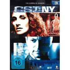 "CSI NY ""SEASON 3"" 6 DVD SET TV SERIE NEU"