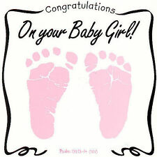 Greeting Card: Congratulations on Your Baby Girl by Twin Sisters CD 2007 New