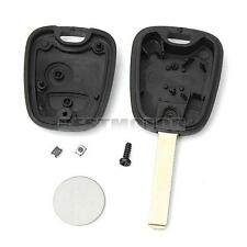 2 Button Remote Key Case Shell Fob Battery & Switches Repair Kit For Peugeot 307
