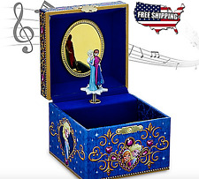 NEW Frozen Musical Jewelry Blue Box Elsa/ Anna Let It Go For Girls Princesses