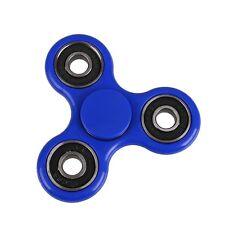 Nuevo Acero intranquilo Spinner dedo Spinner Bolsillo Azul Juguete 4