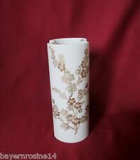 K&A Krautheim Selb Bavaria - Vase 20 cm - Gold Blumen Dekor - TOP-Erhaltung