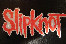 "2  SLIPKNOT  4.5"" DECALS/STICKERS ROCK BAND MUSIC GUITAR MOTORBIKE HELMETS"