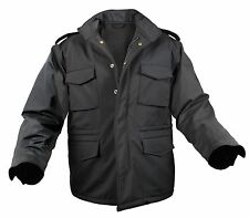 Mens Soft Shell Tactical Jacket M-65 Waterproof M65 Coat Rothco