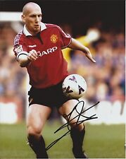 Jaap Stam autograph - signed Man Utd photo