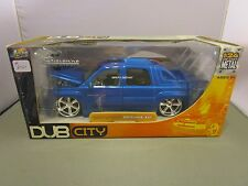 JADA 1/24 DUB CITY BLUE CADILLAC ESCALADE EXT NEW **READ*
