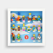 Lego Minifigures Display Case Frame for Simpsons Series 2 Minifigs