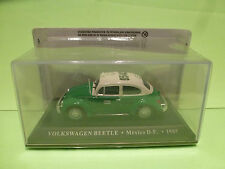 MADE IN CHINA VW VOLKSWAGEN BEETLE KAFER - TAXI MEXICO 1:43 - NMIB UNOPENED