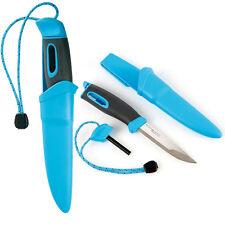 Light my Fire FireKnife(TM), Messer mit Zündstahl in blau