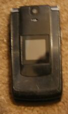 Sanyo Katana 2 II Sprint Cell Phone Fast Shipping Chrg Included Fair Used Black