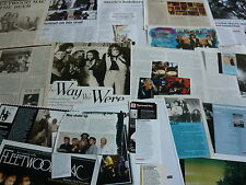 FLEETWOOD MAC - MAGAZINE CUTTINGS COLLECTION (REF AA2)